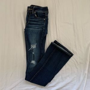Denim - American Eagle Distressed Bootcut Jeans